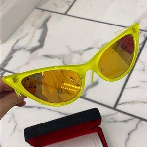 "Adam Selman x Le Specs ""Prowler"" Neon Sunglasses"